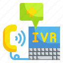 center, technology, phone, call, medical, ivr, healthcare icon