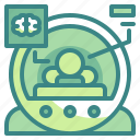 healthcare, medical, mri, scan, technology icon