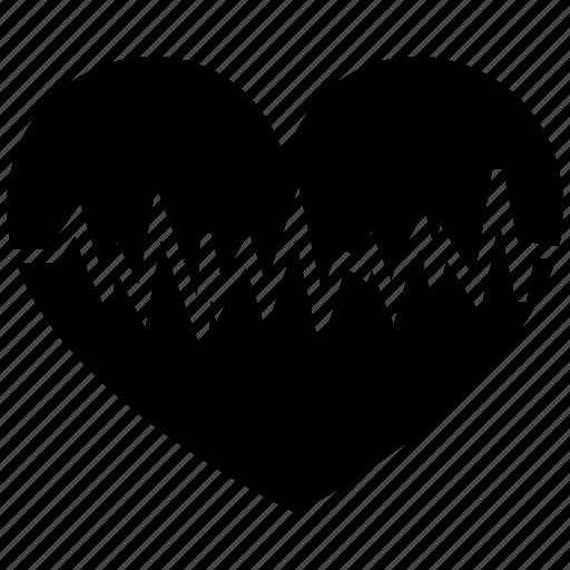 health, heart, love, medical icon