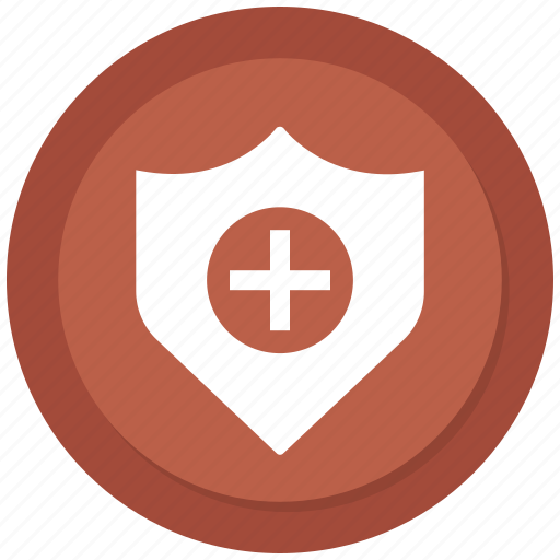 Healthcare, medical, shield icon - Download on Iconfinder