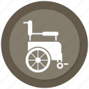 disabled, handicapped, wheelchair icon