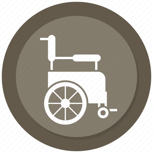 Disabled, handicapped, wheelchair icon - Download on Iconfinder
