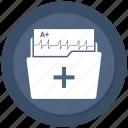 folder, healthcare, hospital, medical