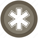 caduceus, medical, medicine, snake icon