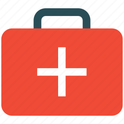first aid bag, firstaidkit, help and support, medicine bag icon