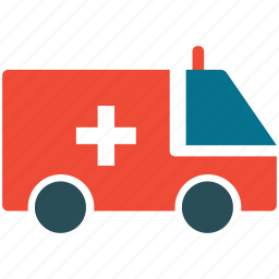 ambulance, help, medical aid, support icon