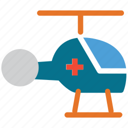aid, chopper, helicopter, medical help icon