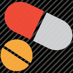 capsule, drug, medicine, pill icon