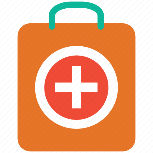 first aid bag, first aid kit, firstaidkit, medical bag icon