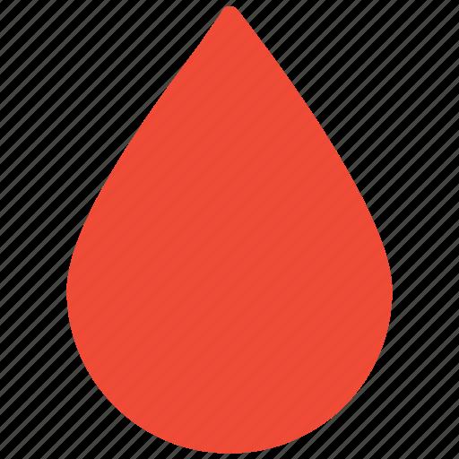 blood, blood drop, rain drop, water drop icon