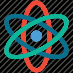 atom, atomic, molecule, science icon