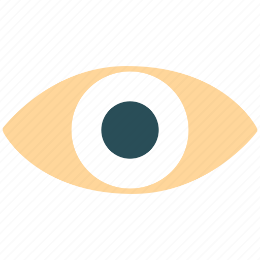 eye, pupil, see, view icon