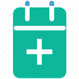 calendar, dates, medical calendar, schedule icon