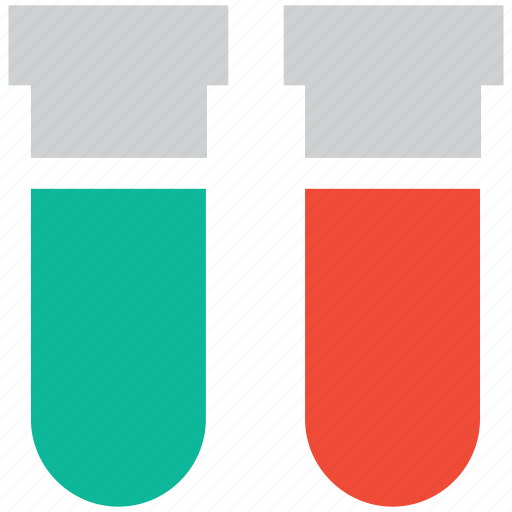chemical, experiment, lab equipment, test tubes icon