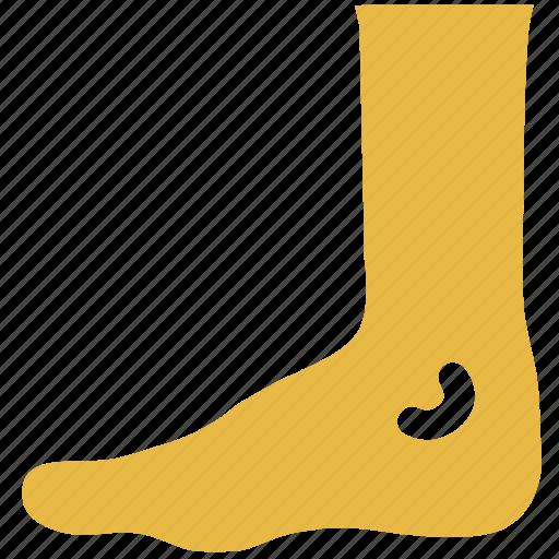 foot, human foot, medical, x ray icon