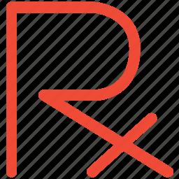 medical, x ray, x rays symbol, x-ray sign icon