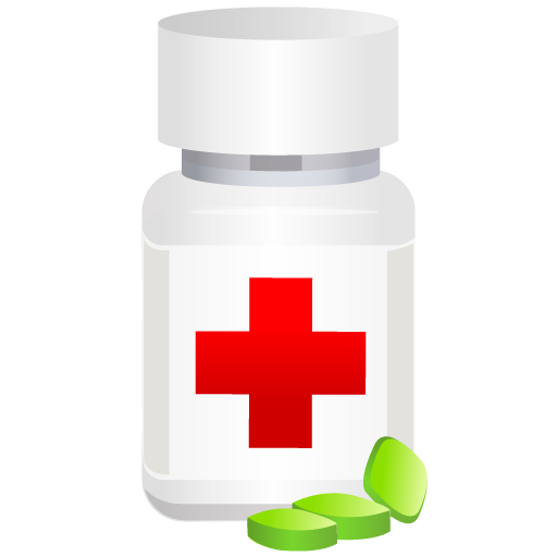 medical, pills, pot icon