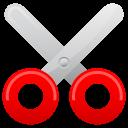 scissor, cut icon