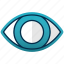 care, eye, healthcare, medicine, view, vision icon