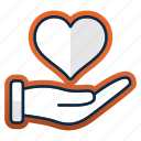 care, health, healthcare, healthy, heart, medicine, valentine icon