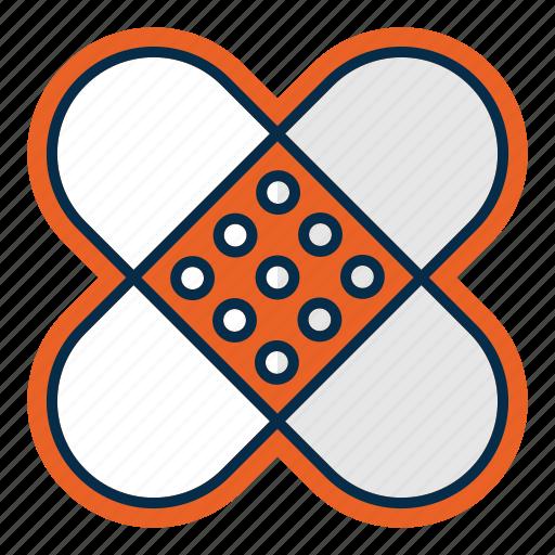 aid, healthcare, medicine, patch, pharmacy, treatment icon