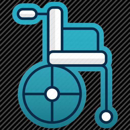 chair, healthcare, medicine, seat, treatment, wheelchair icon