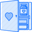 aid, first, hospital, kit, medicine, pill, treatment icon