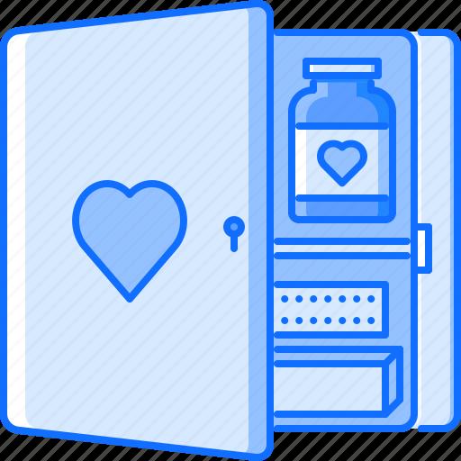 aid, first, hospital, kit, medicine, pill, treatment icon