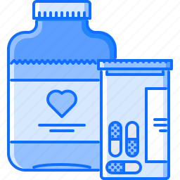 disease, hospital, medicament, medicine, pill, syrup, treatment icon
