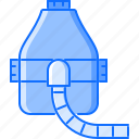 disease, hospital, mask, medicine, oxygen, treatment icon