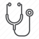 care, clinic, health, heart, medical, medicine, stethoscope icon