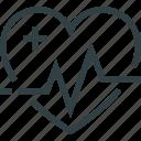 medicine, heart, heartbeat