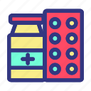 care, hospital, medical, medicine, recovery, tablet icon