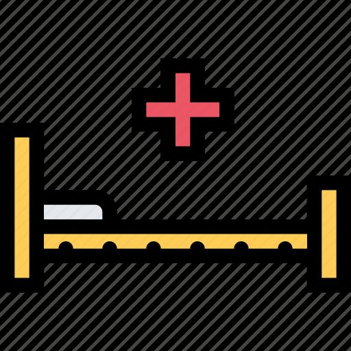 ambulance, bed, dostor, hospital, medicine, treatment icon