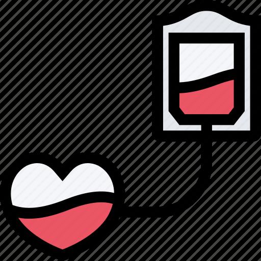 ambulance, blood, dostor, hospital, medicine, transfusion, treatment icon