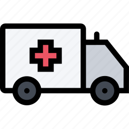 ambulance, car, dostor, hospital, medicine, treatment icon