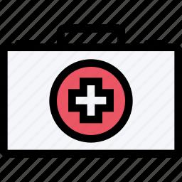 ambulance, dostor, hospital, medicine, suitcase, treatment icon
