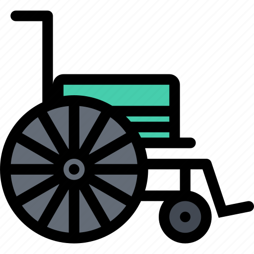 ambulance, dostor, hospital, medicine, treatment, wheelchair icon