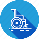 chair, disabled, hospital, wheelchair icon