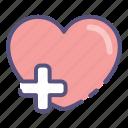 beat, care, gestur, heart, heartbeat, love icon