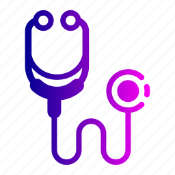 doctor, medical, stethoscope, tool icon