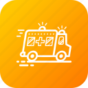 ambulance, emergency, medical, vehical icon