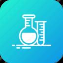 chemicl, drug, flask, health, hearbal, liquid, tube icon