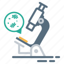 laboratory, medical, microscope, science icon