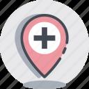 hospital, medical, navigation, pharmacy icon