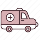 ambulance, emergency, healthcare, hospital, medical, medicine, treatment icon