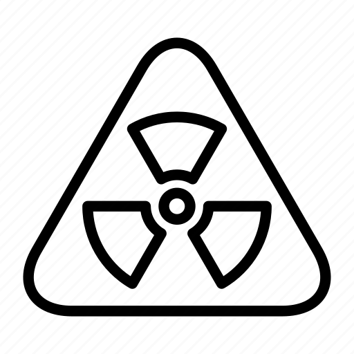 attention, biohazard, caution, hazard, radiation, toxic, warning icon