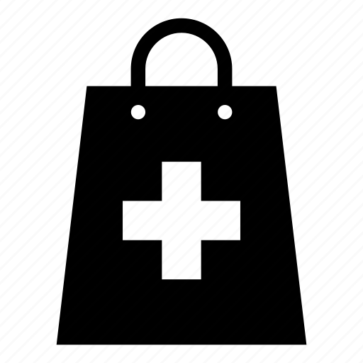 Bag, medication, medicine, pharmacy, purchase, doctor, healthcare icon - Download on Iconfinder