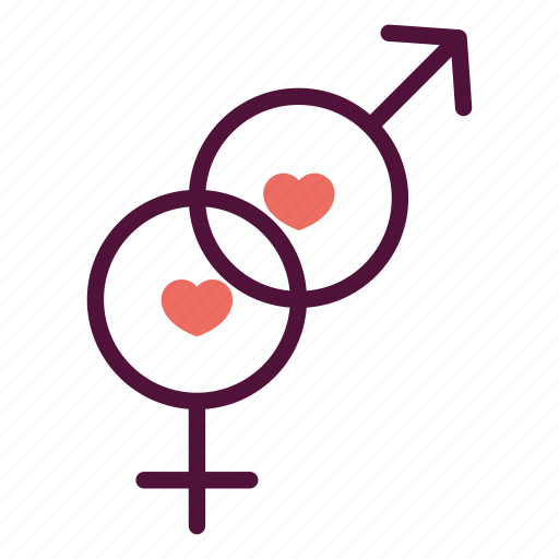 gender, hetero, heterosexuality, relationship, sex, sexual, wedding icon