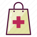 bag, medication, medicine, pharmacy, purchase, healthcare, shopping